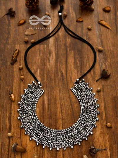 The Bohemian Queen - Statement Boho Neckpiece