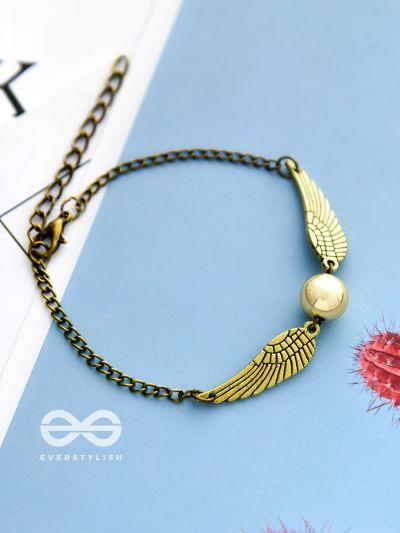 Harry Potter Quidditch seeker bracelet- Golden
