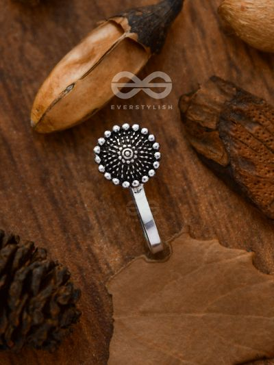 The Boho Button - Non-pierced Nosering