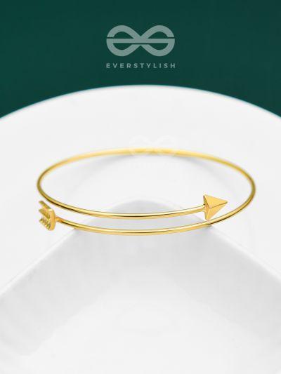 The Warrior Within - Golden Statement Bracelet