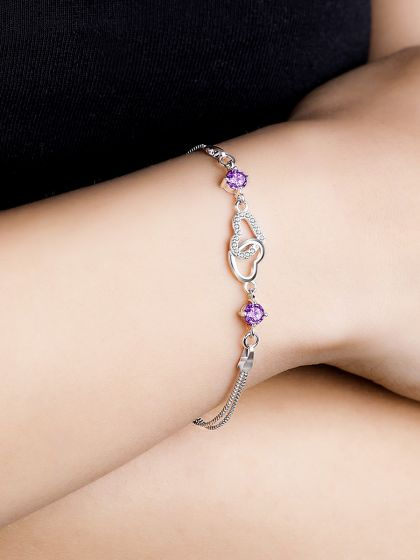 Captivating Cupid AD Bracelet (Purple)