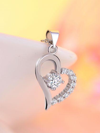 Endless Love American Diamond Neckpiece