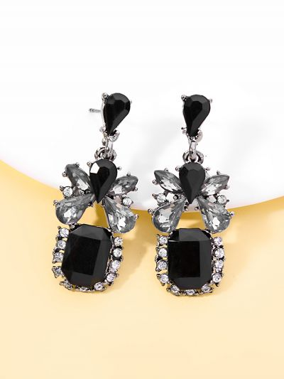 All Eyes In The Party Statement Earrings