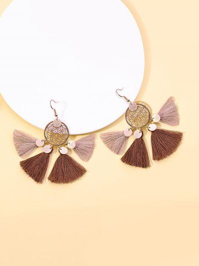 Dreamcatcher Earthy Tones Enchanting Earrings