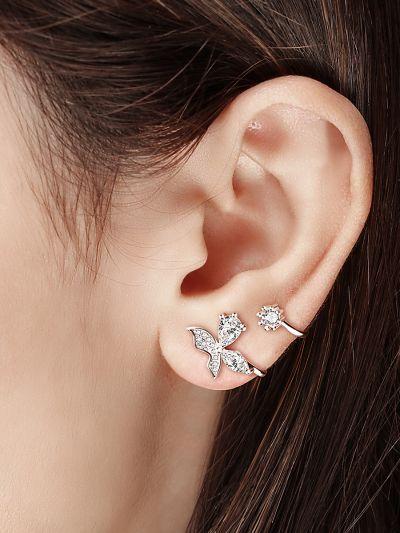 Blissful Butterflies AD Earclips