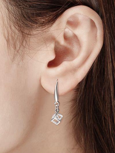Charismatic Cubic AD Earrings
