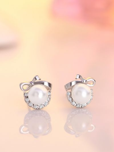 Princess Pearl AD Earrings
