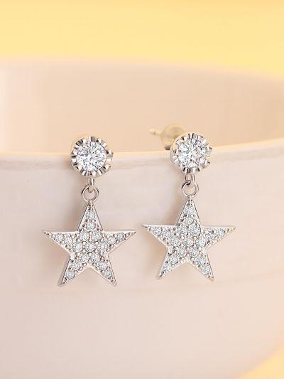 Scintillating Stars AD Earrings