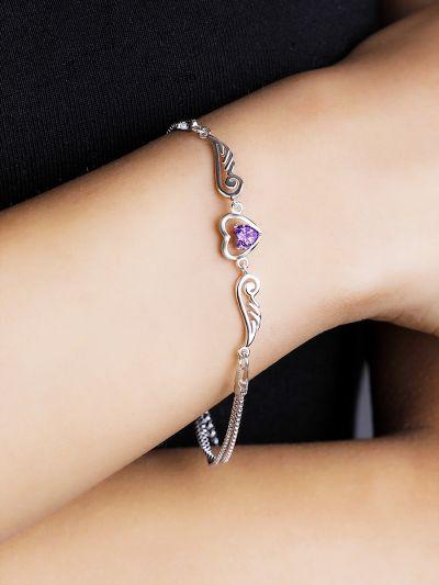 Whimsical Winged Heart AD Bracelet