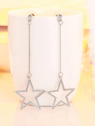 A Celestial Affair with Shining Star AD Drop Earrings