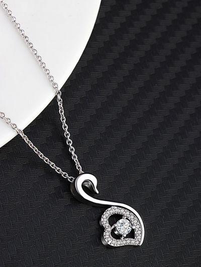 Swooning Swan Exquisite AD neckpiece