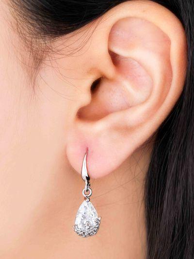 Dazzling Drop AD Earrings