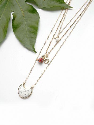 The indelible charm dainty Layered neckpiece