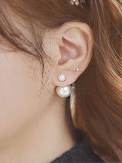 Simplicity is Endearing, Precious Pearl earrings