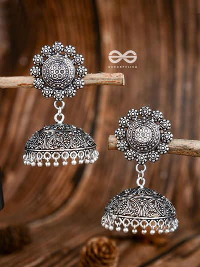 The Ethnic Statement Makers - Oxidised Boho Earrings