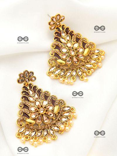 The Marvellous Meenakari Collection - Inaaya Earrings