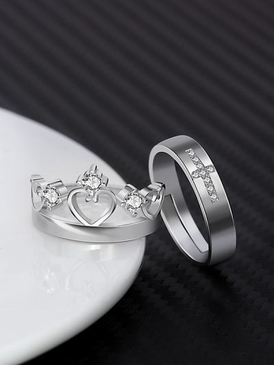 f67887746a Home; Royal King Queen Set of Couple Rings. 399.0000. Special Price ₹399.00  Regular Price ₹899.00