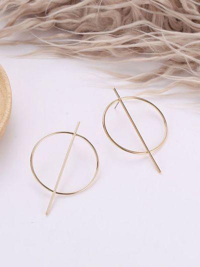7af42579879ef7 Home; An Elegant Delight Golden Geometric Earrings. 118.0000. Special Price  ₹118.00 Regular Price ₹499.00